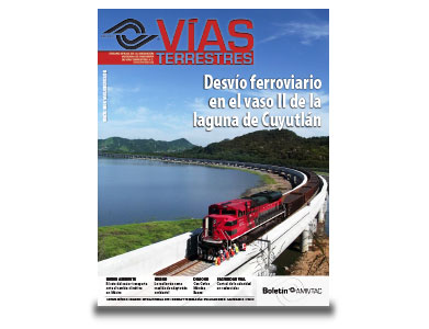 No. 23.- Desvío ferroviario en el vaso II de la laguna de Cuyutlán.